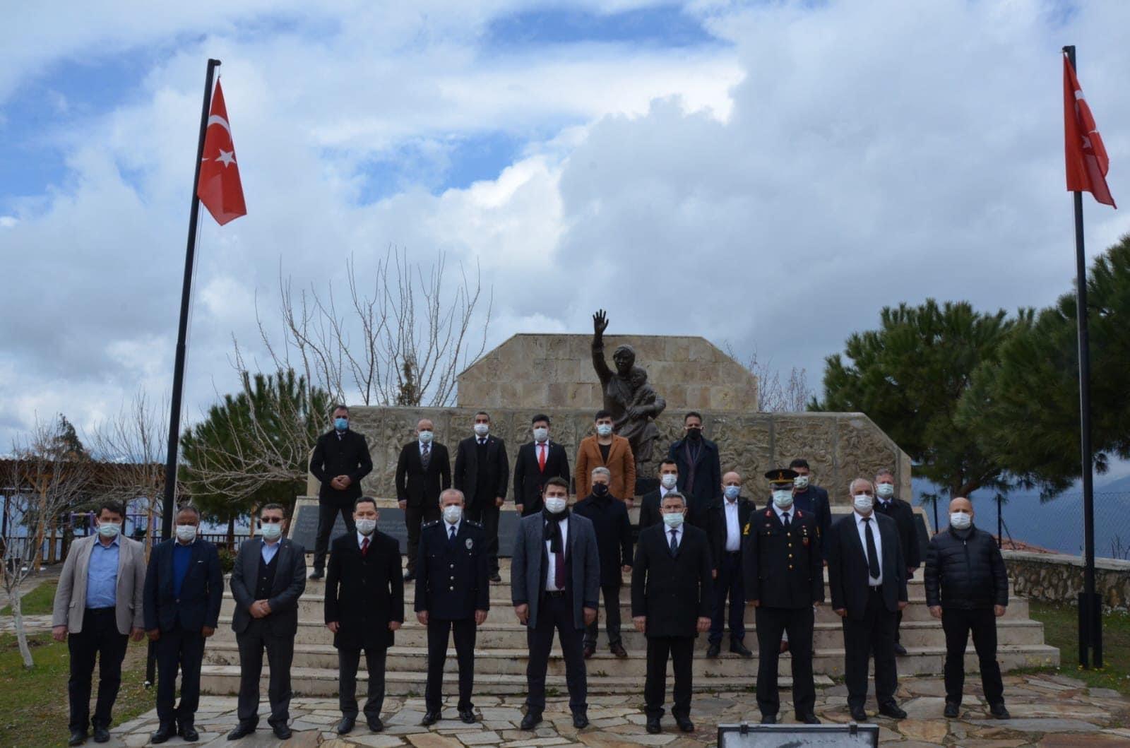 Aydın'ın Köşk İlçesinde Çanakkale Zaferi ve Aziz Şehitlerimiz Dualarla Anıldı