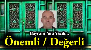 ÖNEMLİ /DEĞERLİ