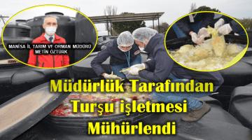 Çıplak Ayakla Turşu Kazanına Girdi İşletme Mühürlendi