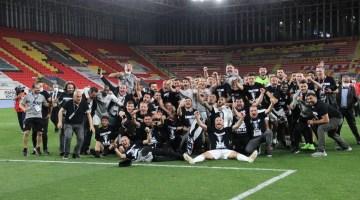 Beşiktaş, şampiyonluğu kutluyor