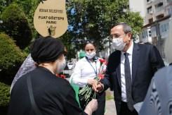 Başkan Batur, 65 Yaş Ve Üstü Konaklılarla Bir Araya Geldi