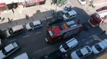 İhbara Giden İtfaiye Araçları, Park Eden Araçlar Yüzünden Mahsur Kaldı