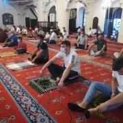 İzmirde Kurban Bayramı Namazı Korona Virüs Tedbirleriyle Kılındı