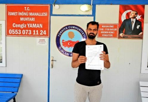Çeşmeli Muhtar, Muhtarlık Ofisi İçin Gelen Ecrimisil Bedeliyle Şaşkına Döndü