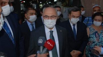 İzmirdeki Korona Virüs Denetimlerine Vali Köşger Katıldı