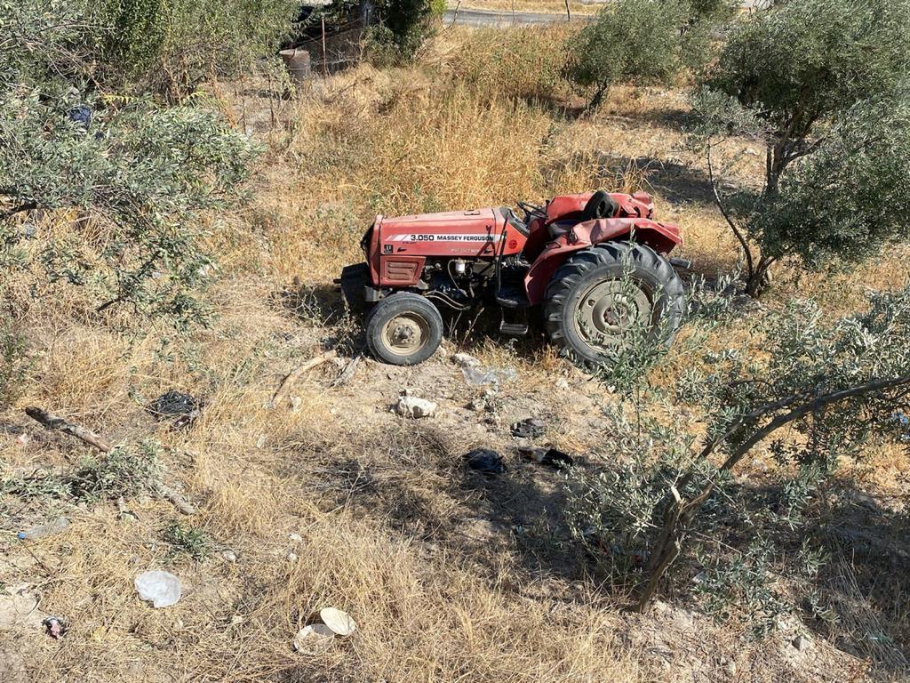Manisada Traktör Kazası: 1 Ölü