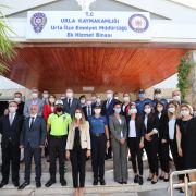 Urla İlçe Emniyet Müdürlüğü'nün Ek Binası Hizmete Girdi.