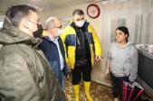 Ak Partili Heyet Sel Mağdurları İçin Sahada