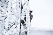 Enerji Kahramanlarının Karlı Dağlarda Zorlu Mücadelesi