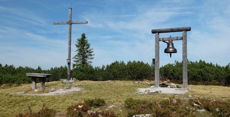 Gipfelkreuz und Wunschglocke