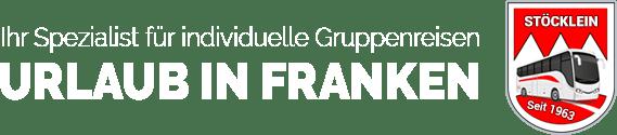 Gruppenreisen Urlaub in Franken