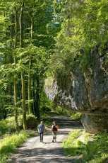 Wandern auf dem fränkischen Gebirgsweg