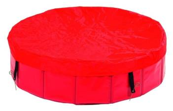 Pool 80 cm mit Abdeckung Planschbecken Pool für Hunde