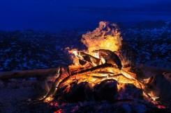 Sonnwendfeuer am Krippenstein