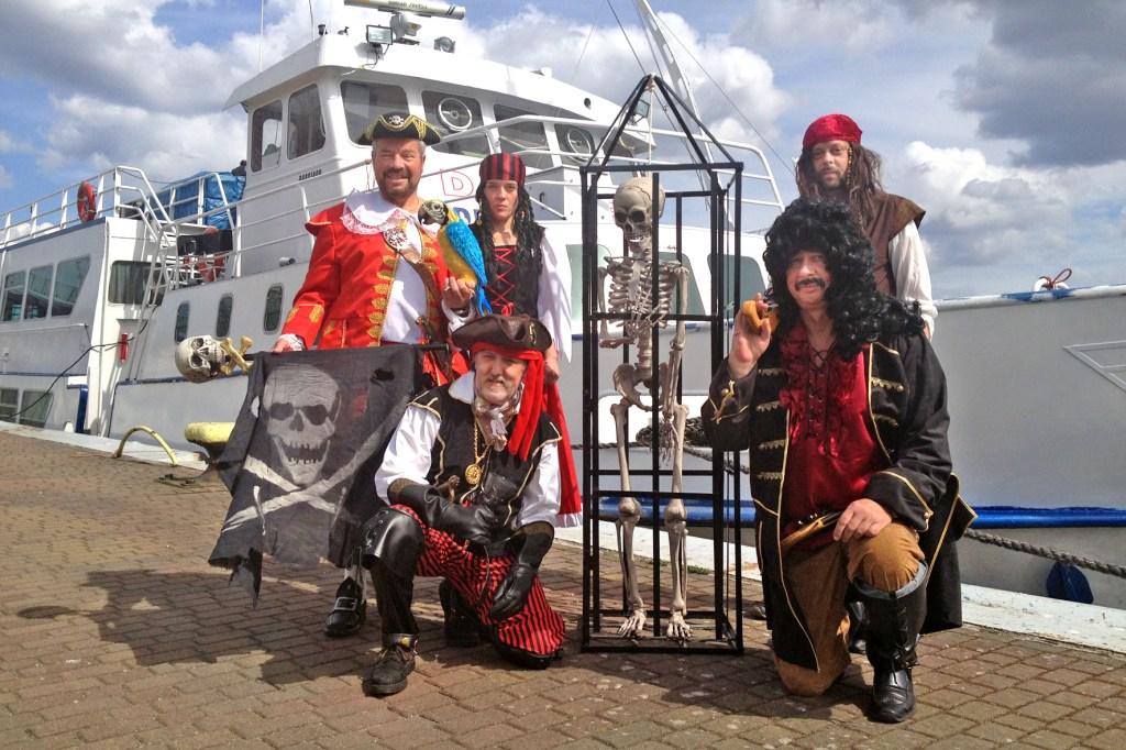 Bei einer Piratenfahrt sind die Kleinen die Größten.