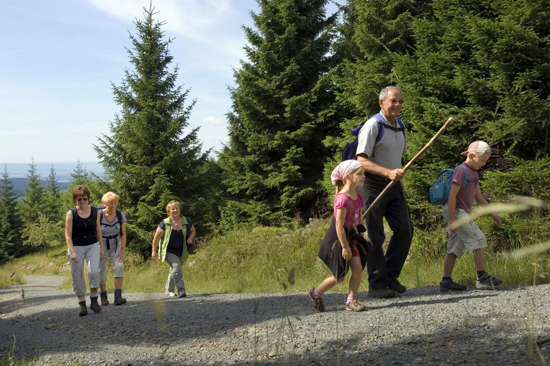 Waldbaden und Wandern in Osterode am Harz
