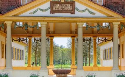 Seit 1787 können Gäste in Bad Bocklet aus der gesunden Stahlquelle trinken.