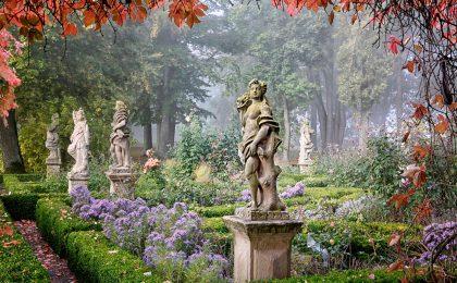 """""""Garten des Jahres 2017/18"""": Burggarten Rothenburg ob der Tauber."""