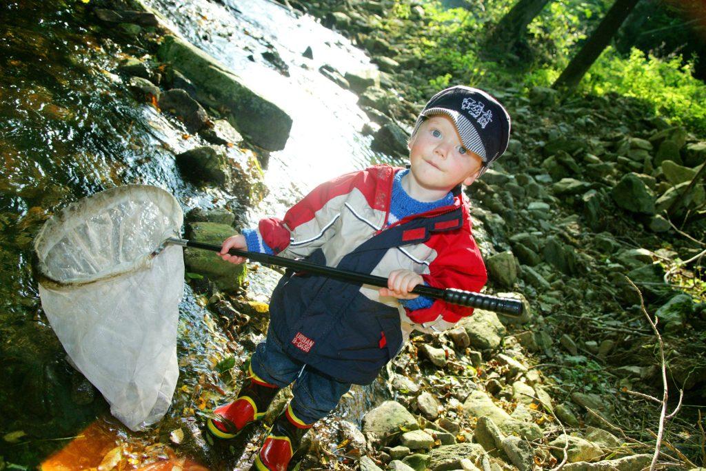 """Das """"Haus am Strom"""" bietet unter anderem Amphibienexkursionen für junge Forscher an - Entdeckungen im Passauer Land"""