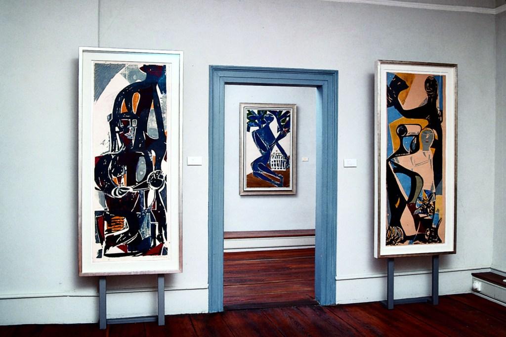 In der Dauerausstellung der Galerie Schloss Glatt sind namhafte Künstler aus dem Umfeld der Bernsteinschule vertreten.