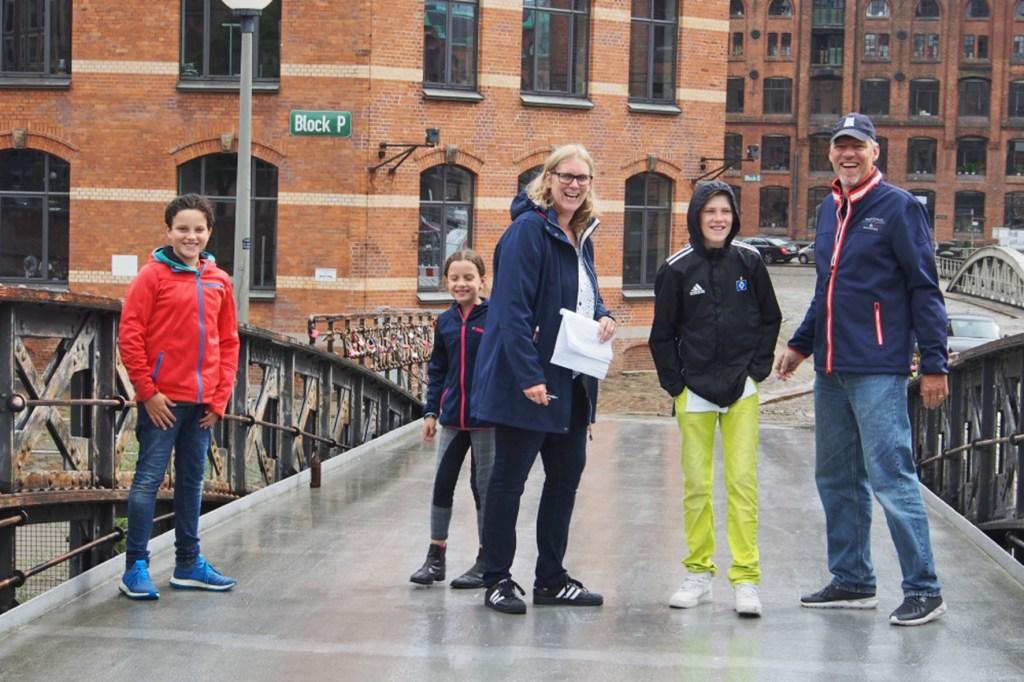 Hamburg spielerisch entdecken: Die Entdeckertouren bieten viele Möglichkeiten und sorgen für Spaß auf dem Stadtrundgang.