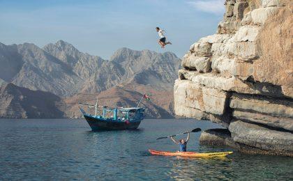 Omans, etwa in der Region von Dhofar, herrscht ganzjährig angenehmes Badewetter.