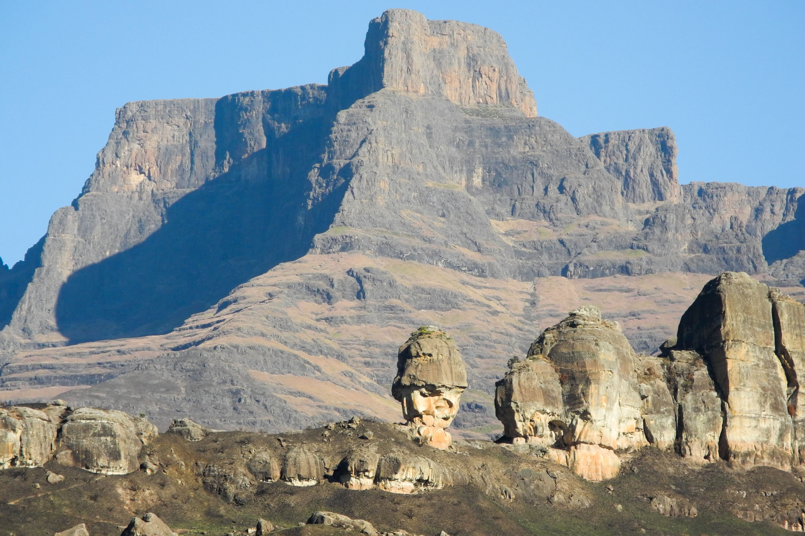 Wandern in Südafrikas Drachenbergen