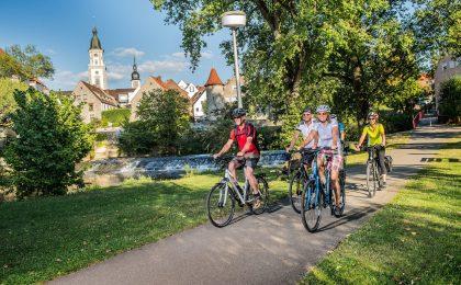 Der Kocher-Jagst- sowie der Neckartal-Radweg zählen zu den beliebtesten Radrouten in Deutschland.