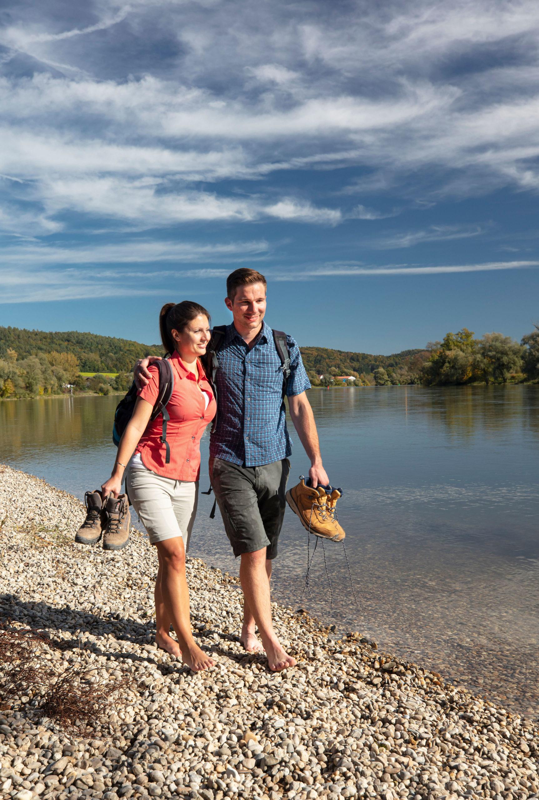 Spaziergang im Donautal und Klosterwinkel