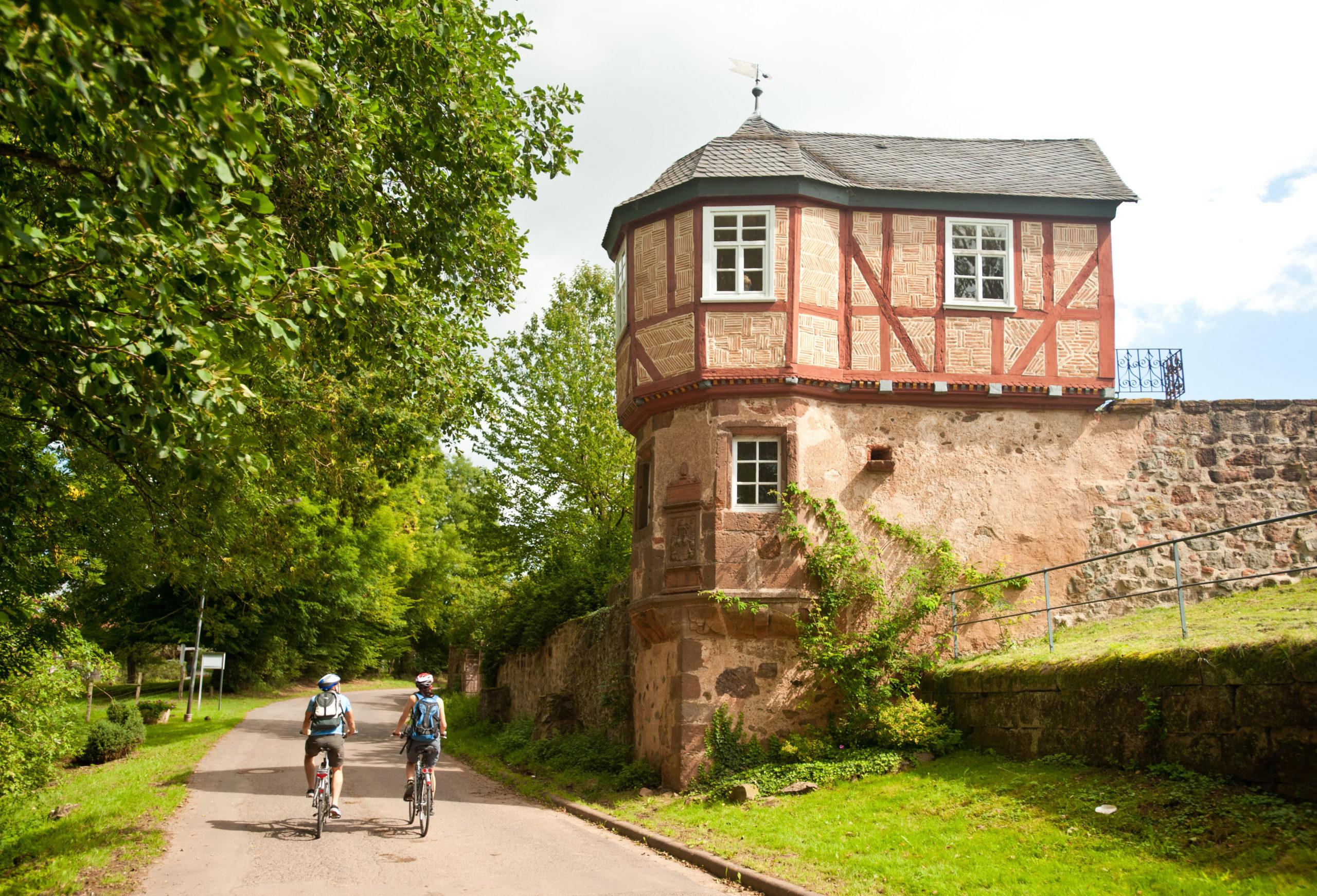 Rapunzels Turm und Burgruinen