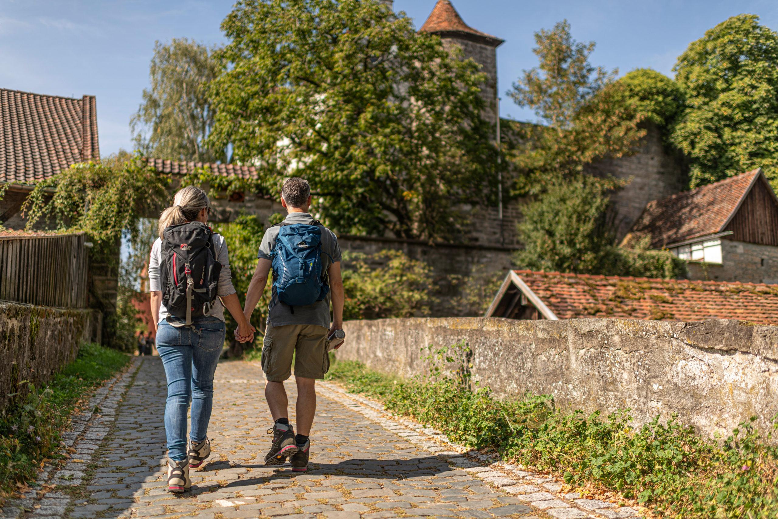 Wanderidylle im Hohenloher Bühlertal