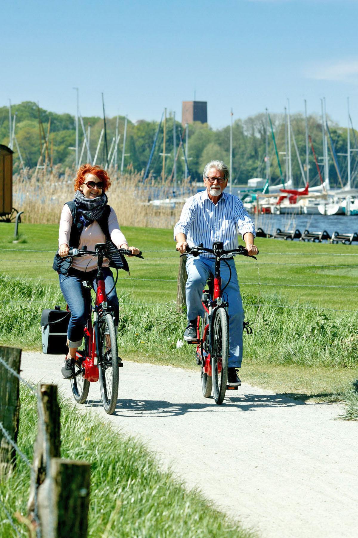 Radfahren in der Ammerländer Parklandschaft