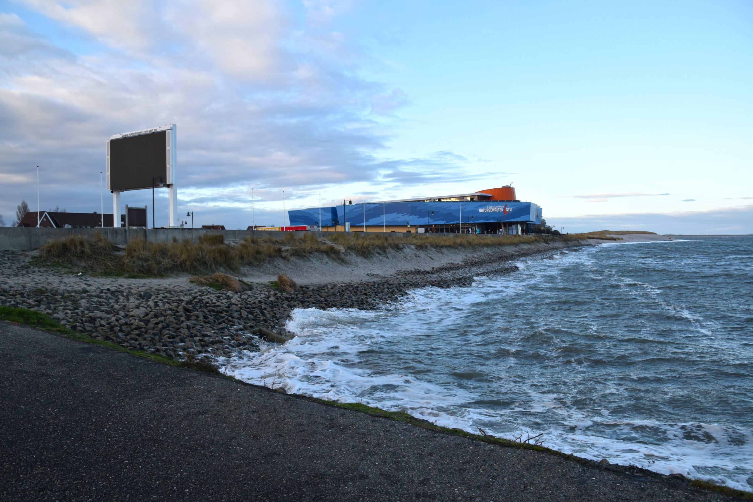 Das Erlebniszentrum Naturgewalten am Lister Hafen auf Sylt