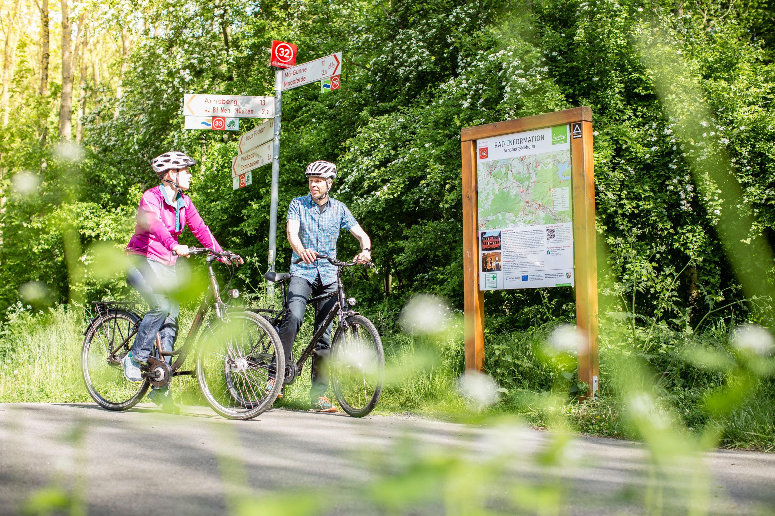 Flexible Fahrradrouten rund um Soest
