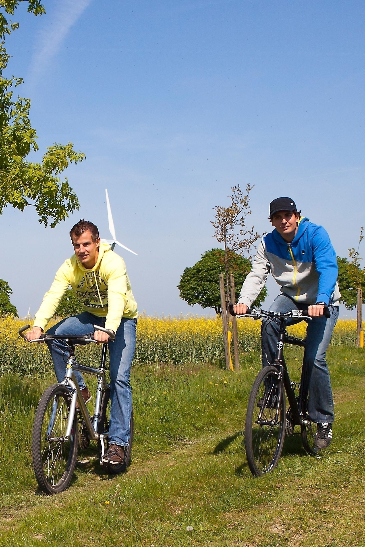 Flexible Fahrradrouten durch die Natur