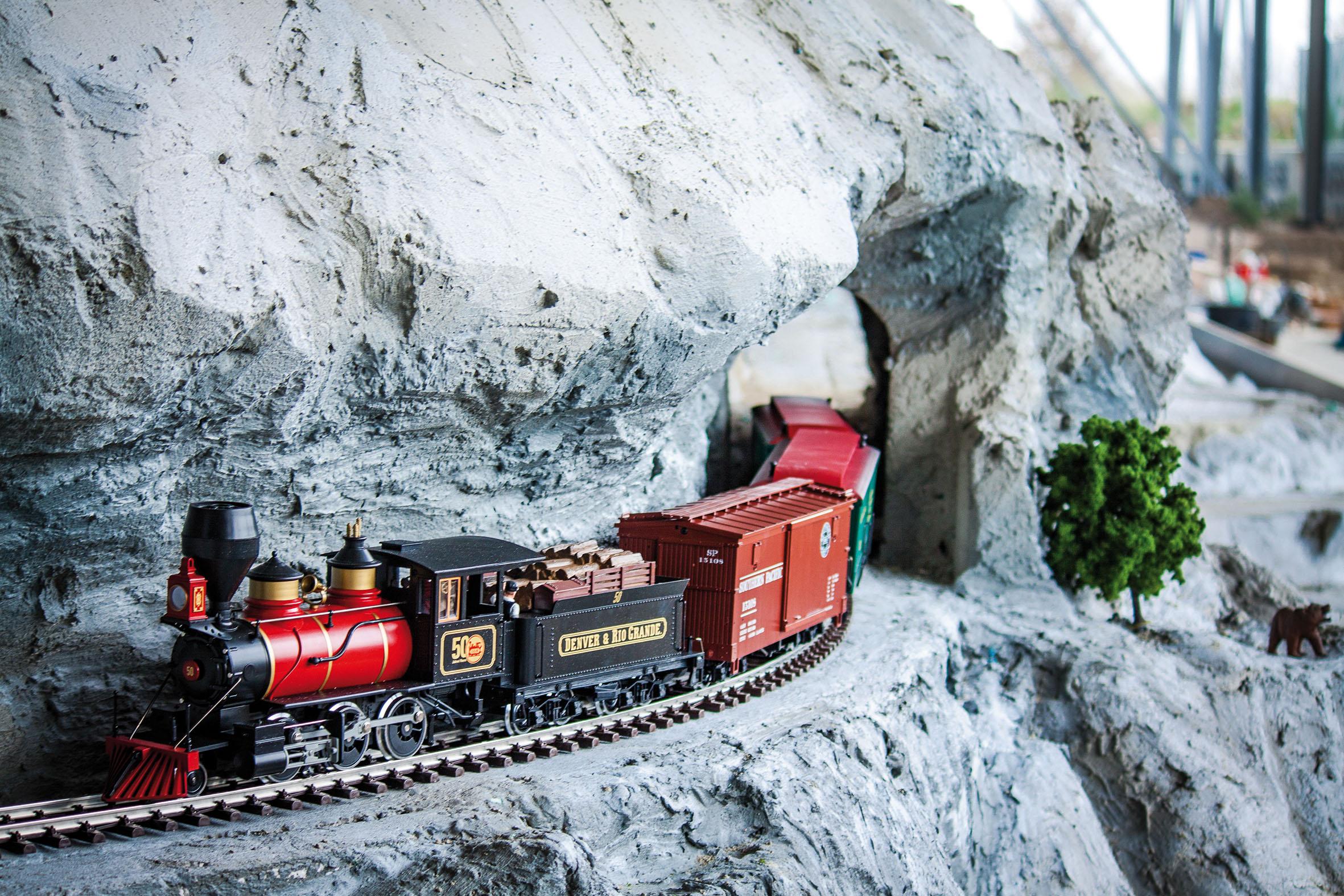 Modellbauwelten Bispingen - Schienen und Motoren