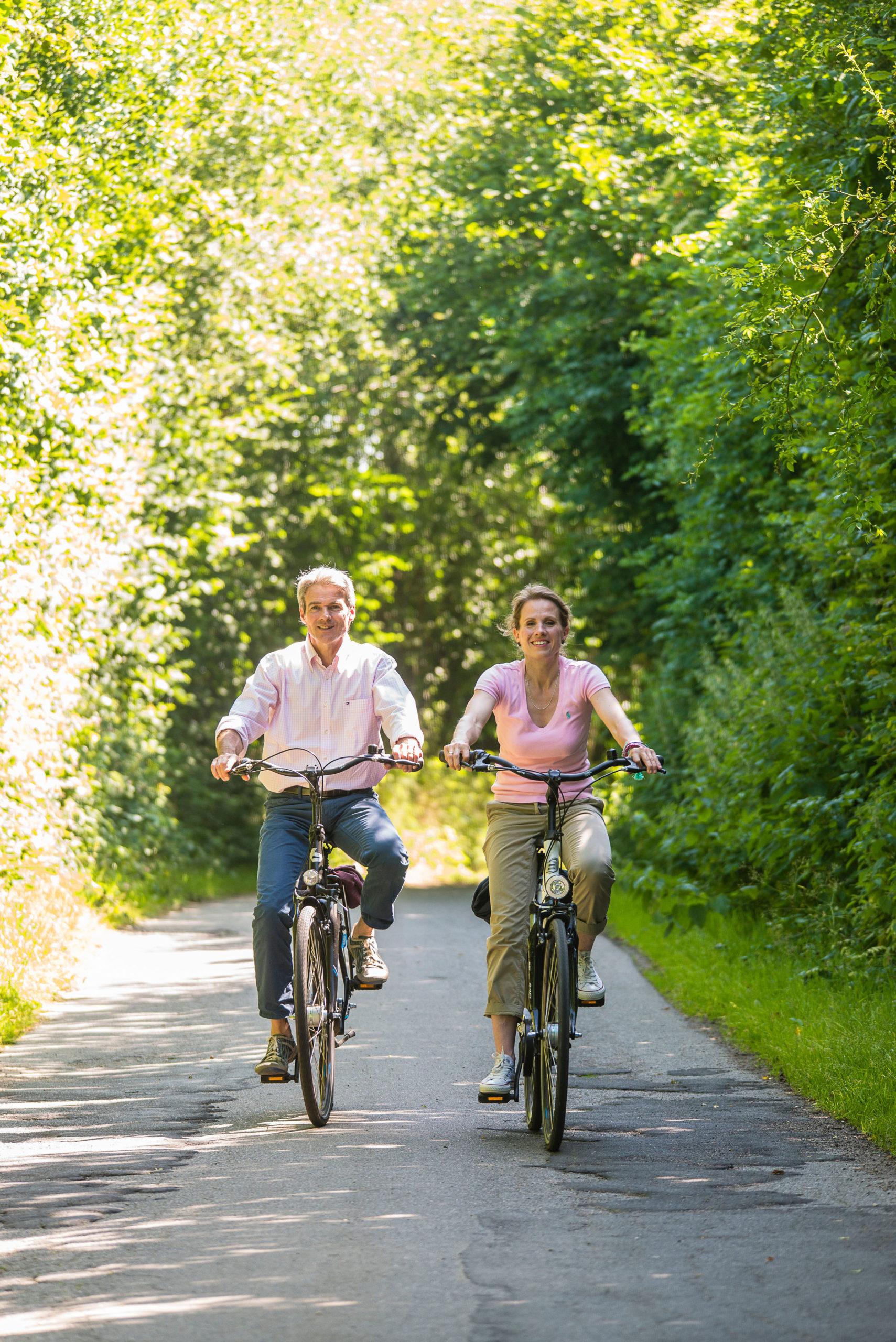 Radfahren in der Eckernförder Bucht