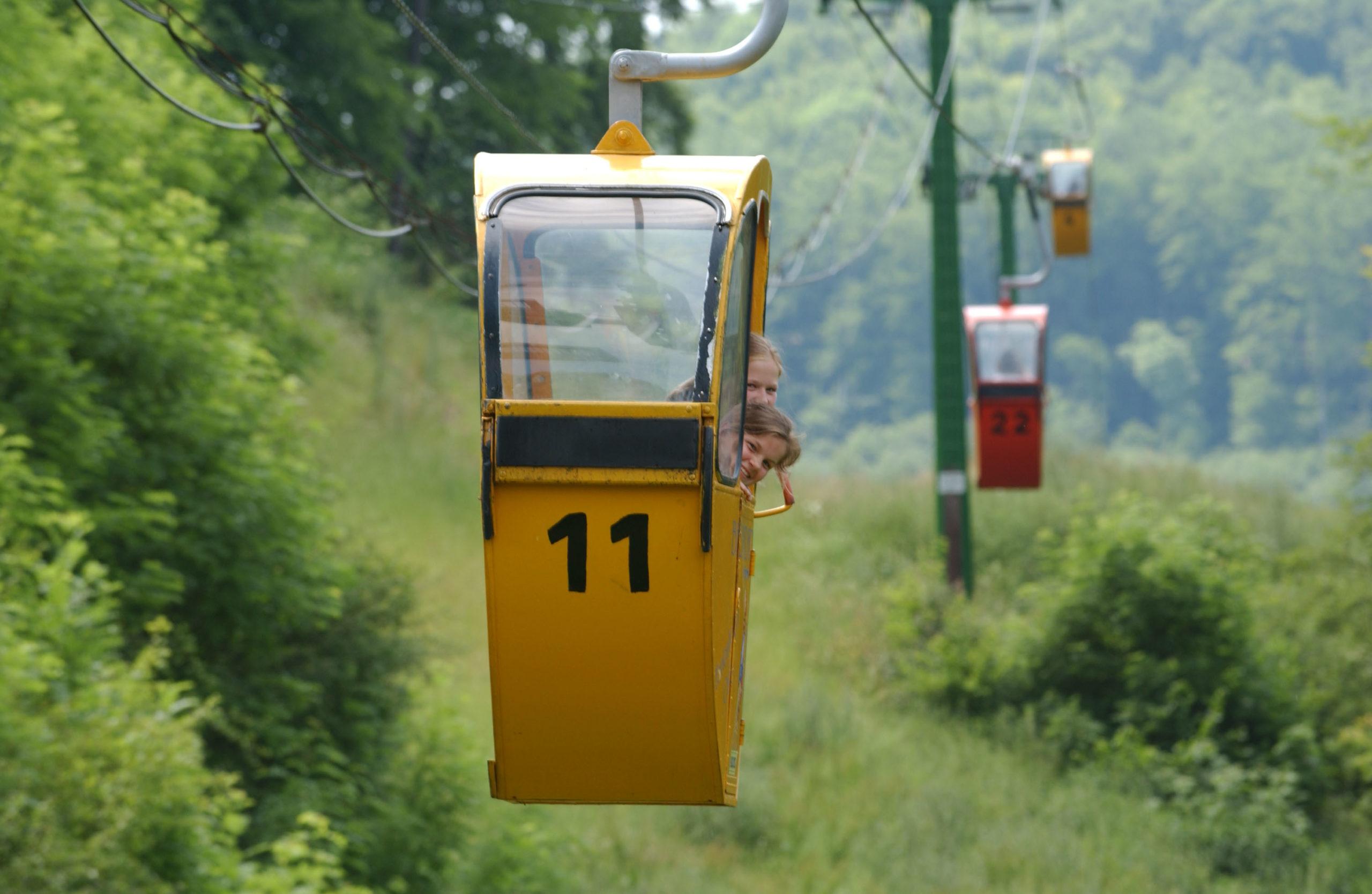 Bergbahn zum Schloss Waldeck