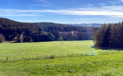 Landschaft im Unterallgäu