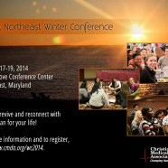 FW: CMDA Winter Conference 2014