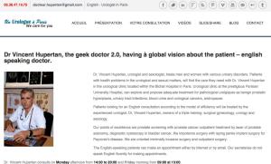 urologue.Paris le site internet dédiés aux patients à ParisA