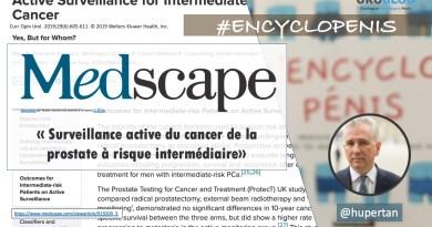 Cancer de la prostate – la surveillance active dans le groupe à risque intermédiaire.