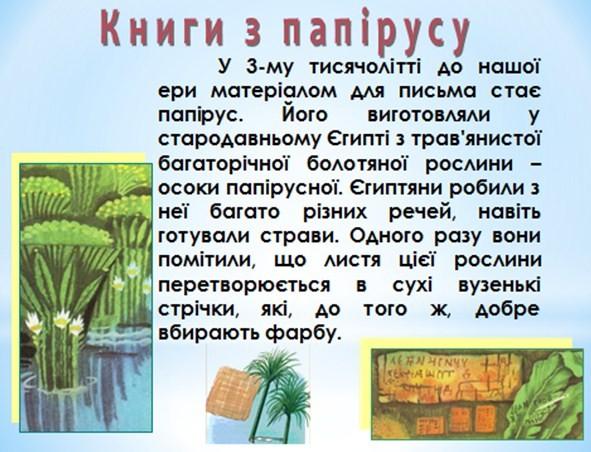 Книги з папірусу