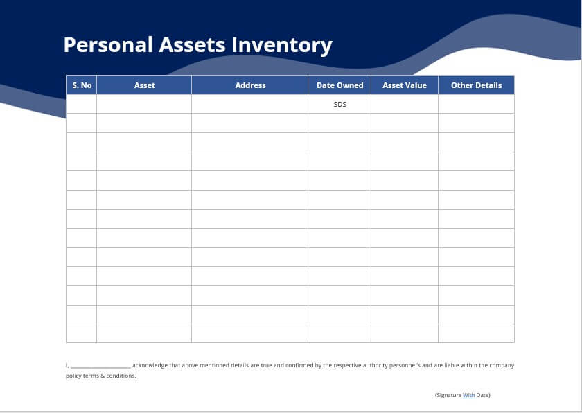 Read our report on diversity, equit. 10 Asset Inventory Template Room Surf Com