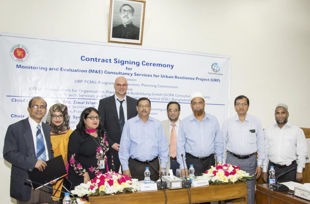 Contract Signing Ceremony
