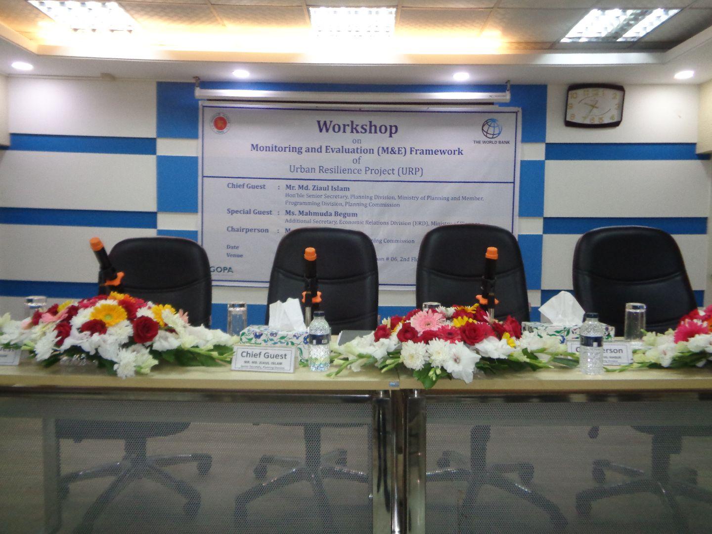 Workshop on M&E Framework of URP(27-11-18) (1)