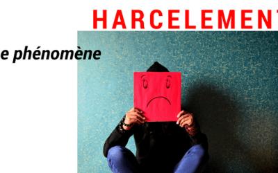 HARCELEMENT A L'ECOLE : Le phénomène