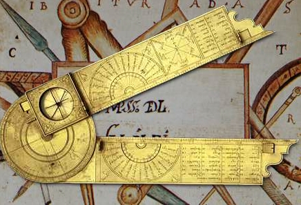 Image result for galileo's compass