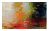 Ursula Kolbe 2000-2005 Concerning Landscape 'Pool'. Oil on canvas