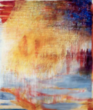 Ursula Kolbe 'Hinting at Things'. Oil and oil stick on canvas 180x152cm